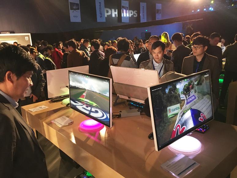 2016飞利浦显示器发布会