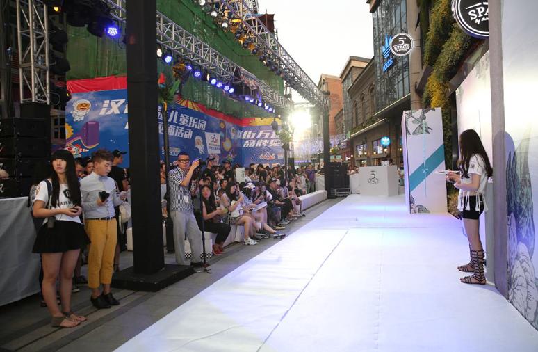 FJ第五空间武汉万达汉街开业